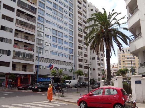 Idou Anfa Hotel : Hôtel Idou Anfa au centre