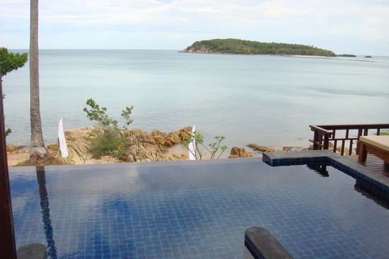 Nora Buri Resort & Spa : view from plunge pool