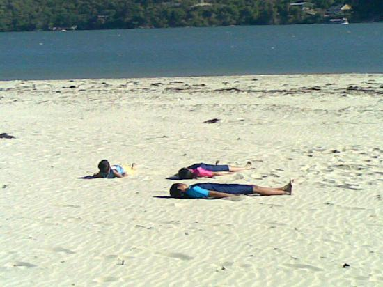 Knysna Lagoon: white sandy beaches