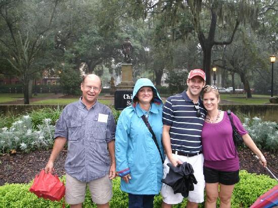 Explore Savannah: Chippewa Square Savannah, GA
