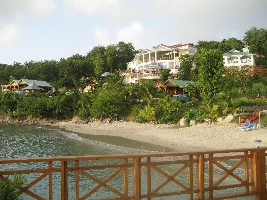 Calabash Cove Resort and Spa: View from the dock