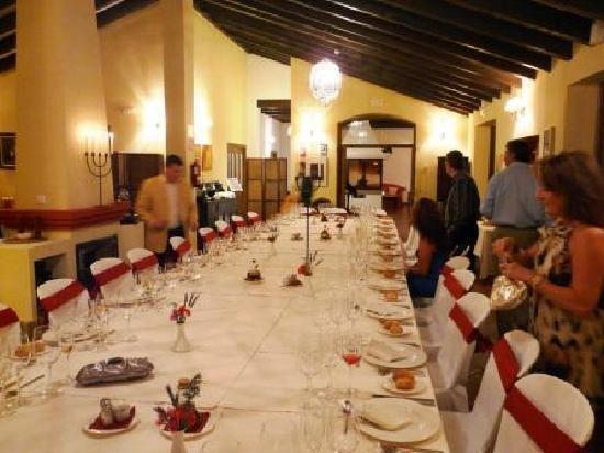 Hotel La Fuente del Sol: Gala dinner in main restaurant