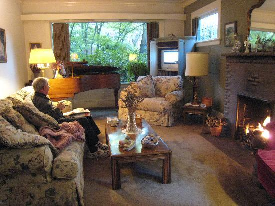 Bed and Breakfast on Capitol Hill: Living room