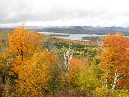 Grand Summit Hotel and Conference Center: Height of Land overlook, Maine