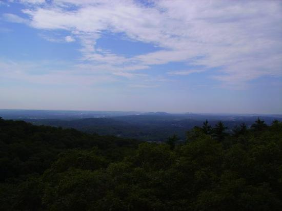 Sleeping Giant State Park: View from the top