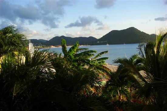 The Landings St. Lucia: View of Rodney Bay from room