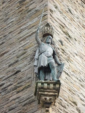 National Wallace Monument: Wallace Statue,Stirling,Scotland.