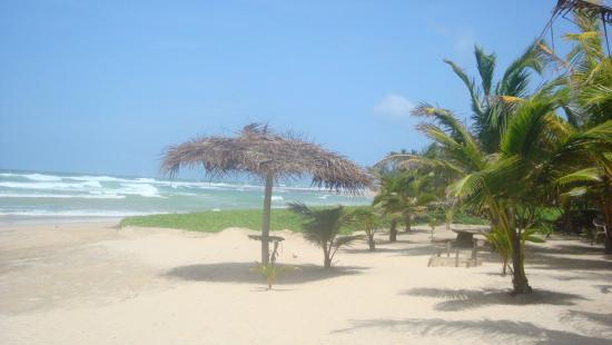 Villa Sunshine : Nette, einsame Strandbar in 10 Minuten