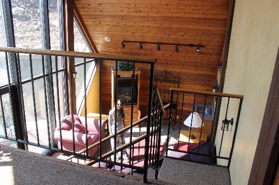 "Skiers Lodge: The ""lodge"", very tiny."