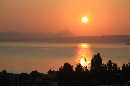 Folia Apartments: sunrise from Folia balcony