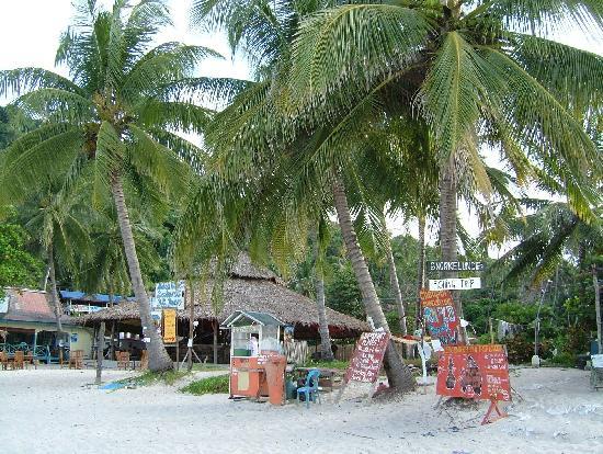 Pulau Perhentian Kecil, Malaysia: shops