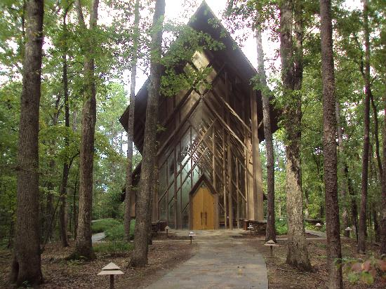 Anthony Chapel Picture Of Garvan Woodland Gardens Hot Springs Tripadvisor