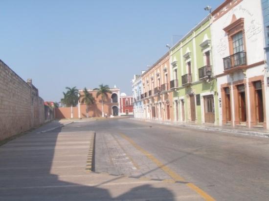 stadtzentrum von campeche - unesco weltkulturerbe