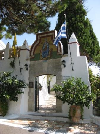 Paleokastritsa Beach: Paleokastritsa, Monastery