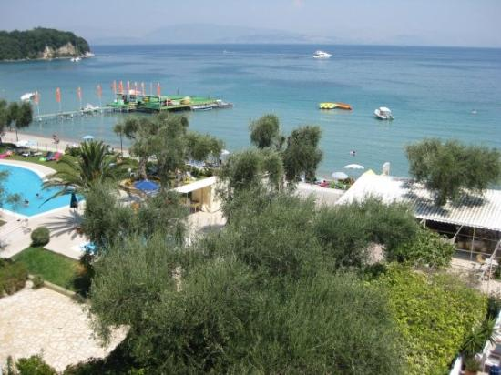 Elea Beach Hotel: View from Elea Beach, Dassia