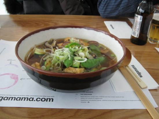 Wagamama - Bloomsbury: Last minute early morning Wagamama fix at LHR