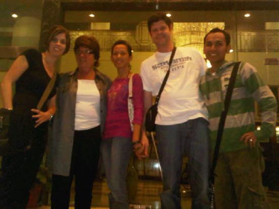 Emerald Garden Hotel : Going for dinner...!!