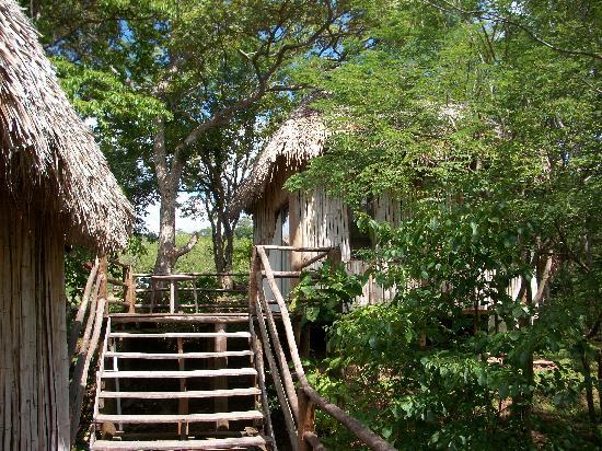 Empalme a Las Playas: cabanas