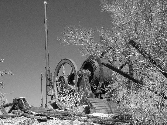Vulture Gold Mine: Headframe Winch