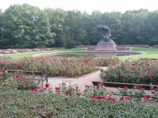 Chopin Monument Photo