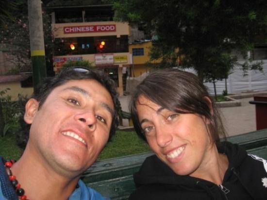 Hot Springs (Aguas Calientes): Yesica mi amiga buena conversa con la argentina