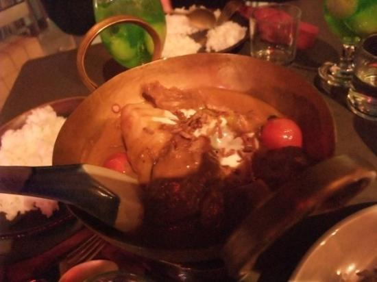 Thai Foon Harbourside: Joey's 'Red Curry' with coconut milk.