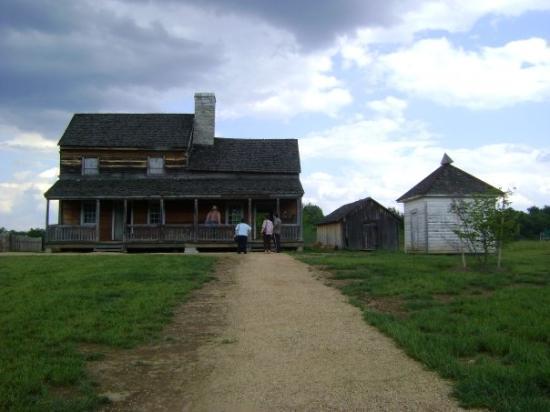 สทอนตัน, เวอร์จิเนีย: Frontier Culture Museum/Ferma americana-1850