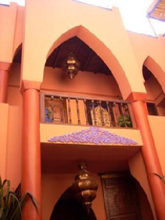 Riad Basma: Patio interior