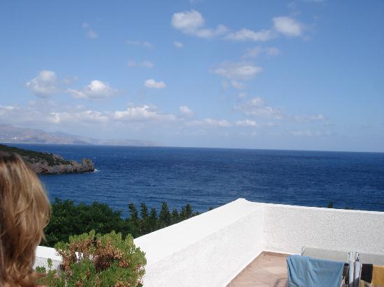 Istron Bay Hotel : balcony view