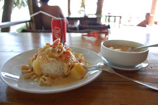 Sunset Cove Resort: Massaman Curry