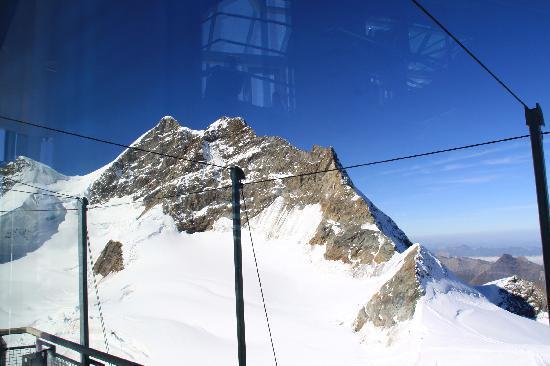 Jungfraujoch: お天気に恵まれて!