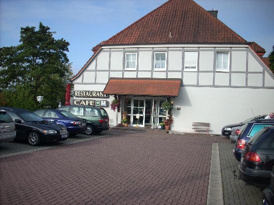 Hotel Rhöner Land: The front of the horel