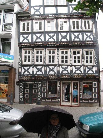 Typical house in the historic centre of Bad Hersfeld