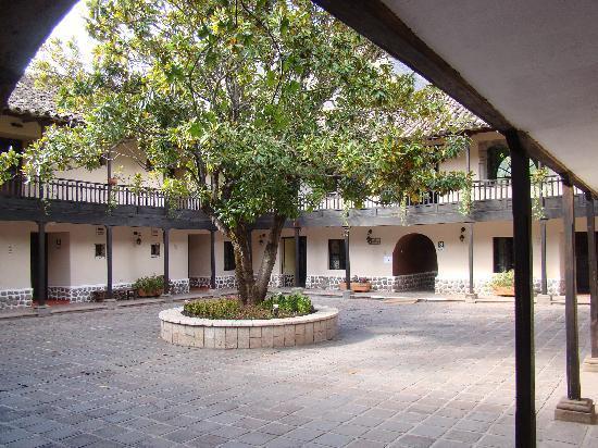 Sonesta Posadas del Inca Yucay: patio de l'hôtel