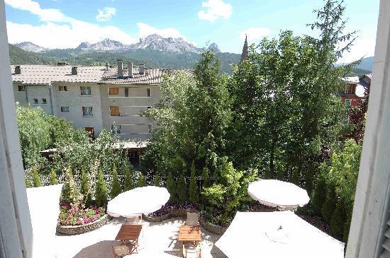 Hotel Azteca : View from bedroom