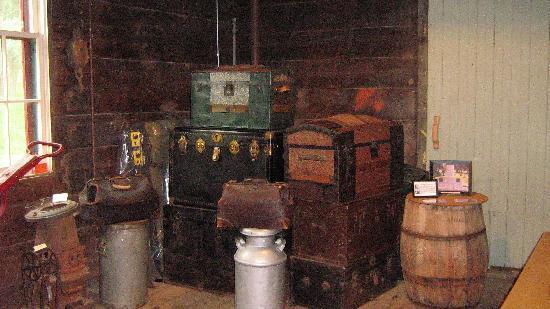 Chicago & Alton Railroad Depot: Baggage Room
