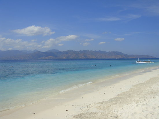 Gili Trawangan, Indonesia: The beach