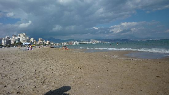 Hotel Castilla Alicante: Miles of San Juan Beach
