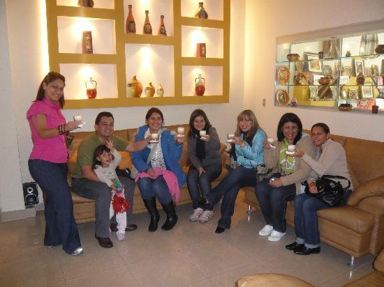 Hotel Ferre Miraflores: a la llegada un Pisco sour de bienvenida