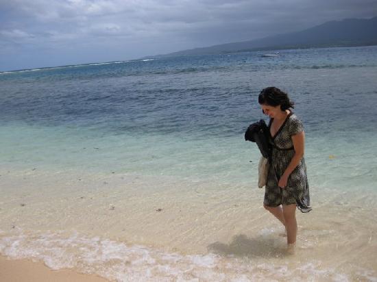 Qamea Resort And Spa Fiji: beautiful blue water