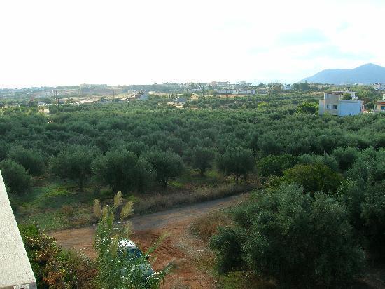 Portokali Apartments: View from balcony of Kosma Sun apt