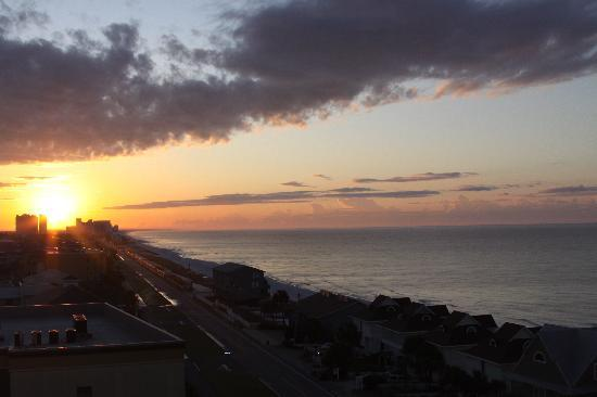 Miramar, FL: Sunrise from condo