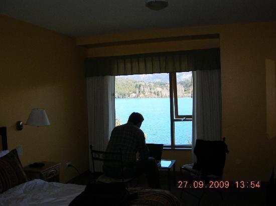 Peninsula Petit Hotel: Trabajando con una vista fantástica