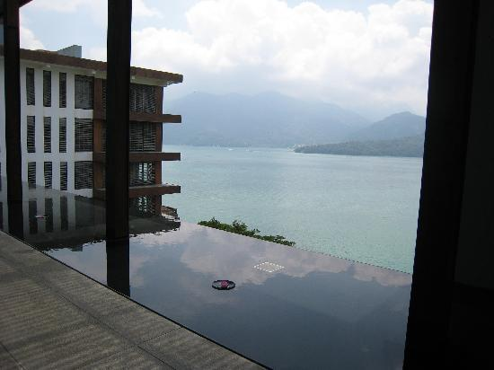 The Lalu Sun Moon Lake : View from the lobby