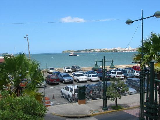 Don Tello: San Juan Bay from terrace
