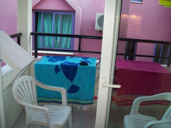 Prestij Apartments: balcony view