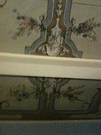 Bed & Breakfast Armellino: Painted ceiling