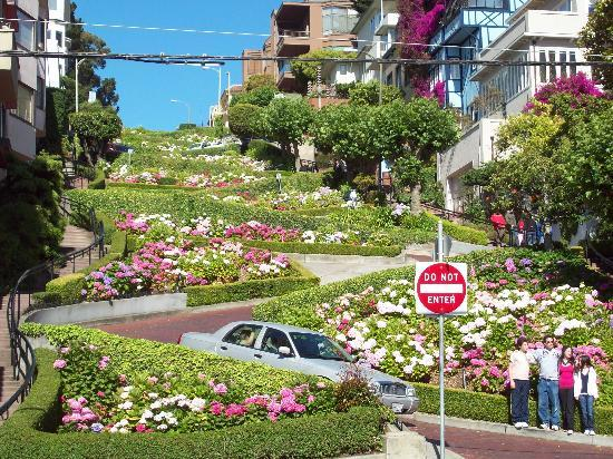 San Francisco, Californië: Lombard Street