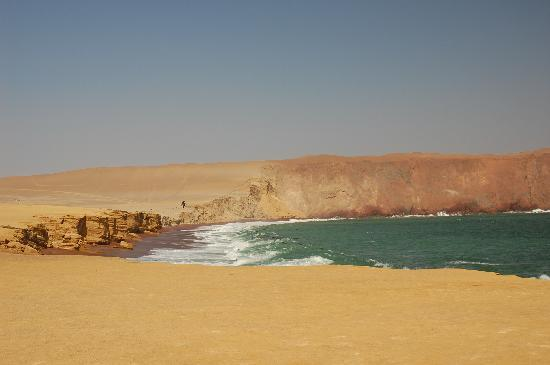 DoubleTree Resort by Hilton Hotel Paracas: View from one of the beaches in the Reserva Nacional de Paracas