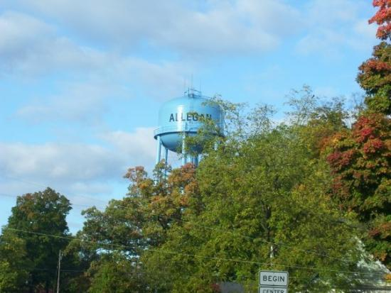 Allegan Water Tower